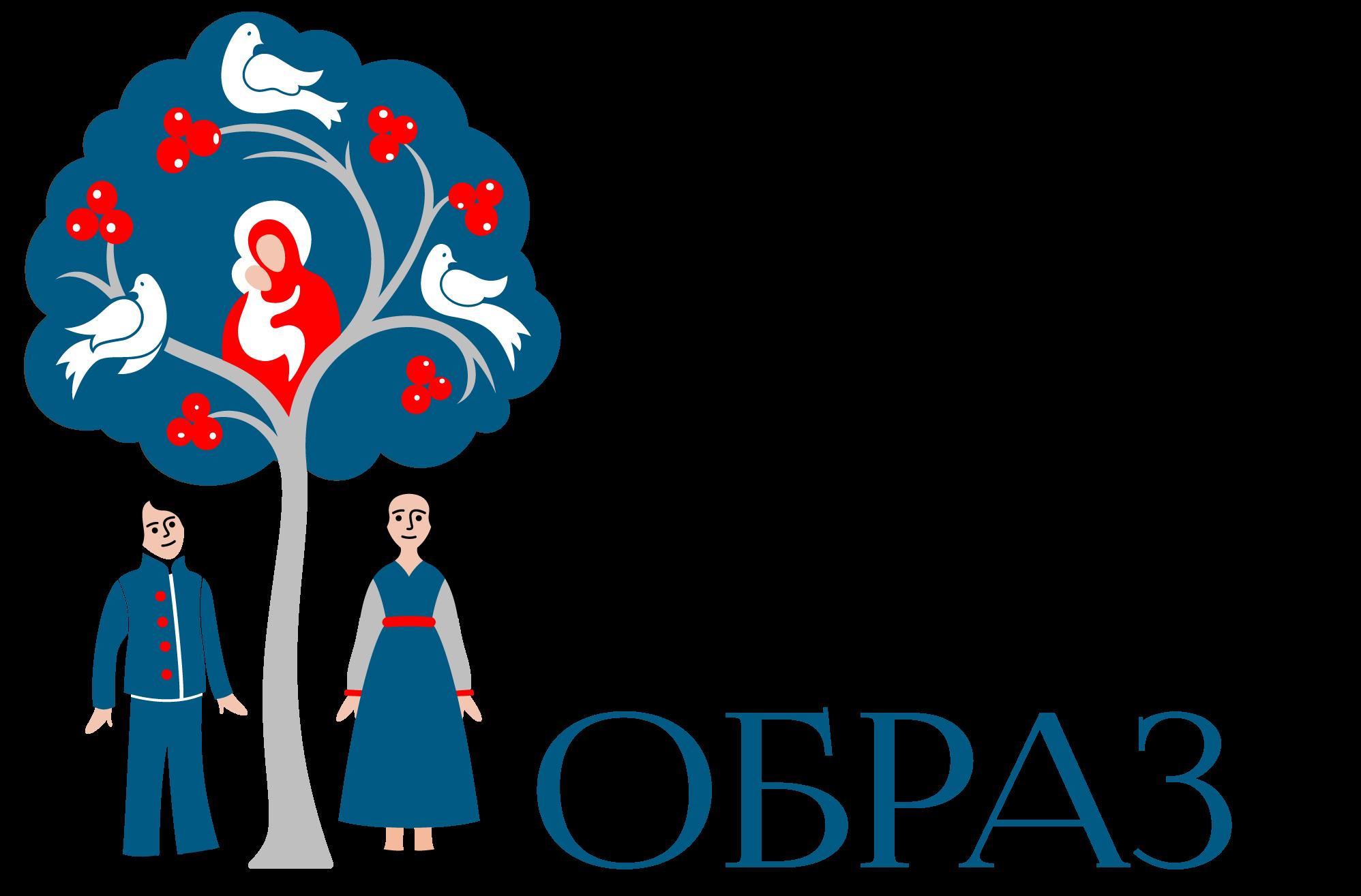 """Логотип школы """"Образ"""""""